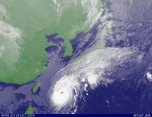 気象衛星 201010280900-00