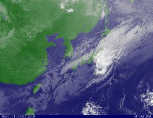 気象衛星 201010301600-00