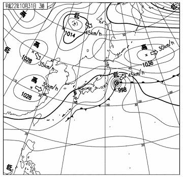 天気図 10103103