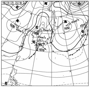 天気図 10120221