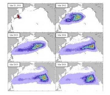 津波がれき拡散シミレーション
