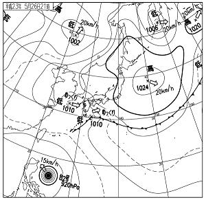 天気図 11052621
