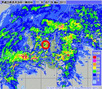 気象レーダー 201105291130-00