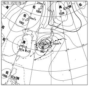 天気図 11052918