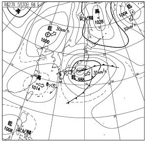 天気図 11053006
