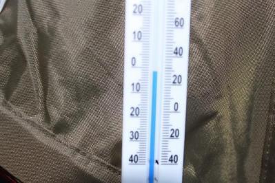 温度計0度