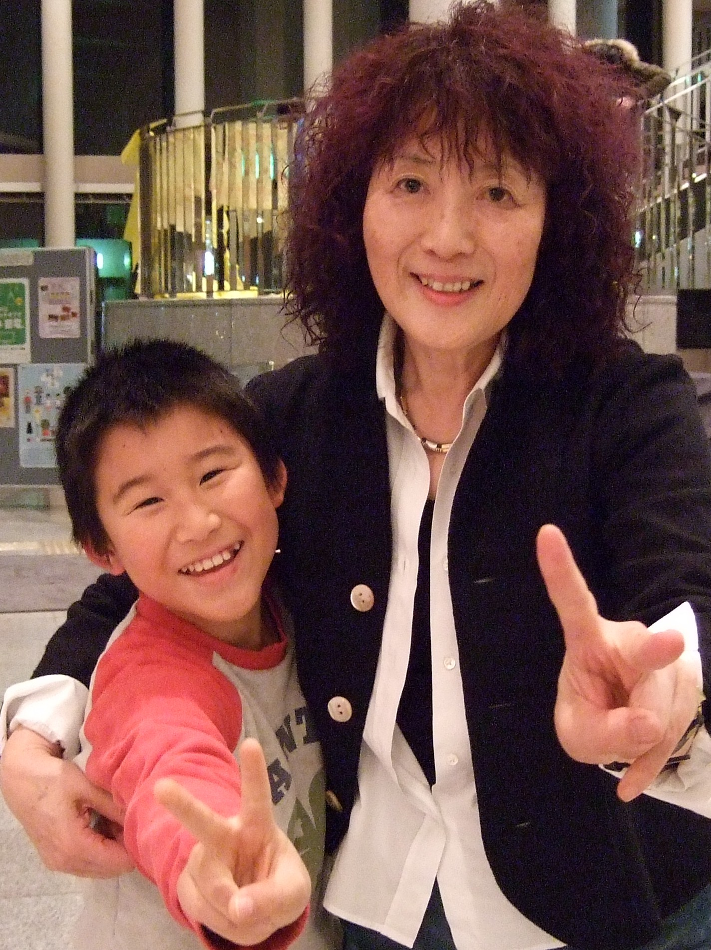 司会の宍倉さんと2013