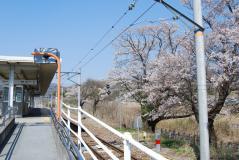 甲斐岩間駅02
