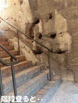 コロッセオの階段。