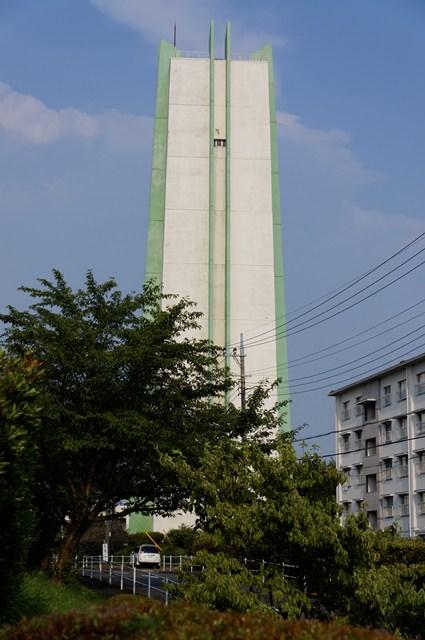 公社愛宕二丁目住宅給水塔