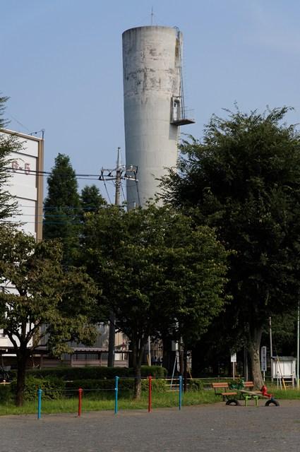 都公社小金井本町住宅の給水塔