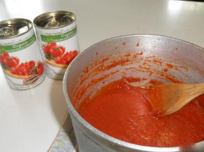 20120609 今朝作ったトマトソース
