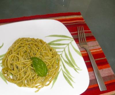 2012.07.10 Pasta al Pesto