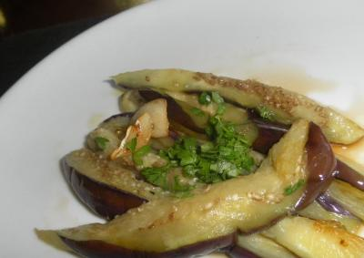 2012.08.05 茄子&オリーブオイル