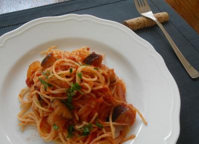 2012.10.29 茄子のスパゲティ