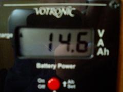 バッテリー電圧