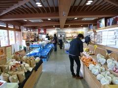 道の駅野須 店内