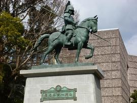 高知城2 山内一豊の像