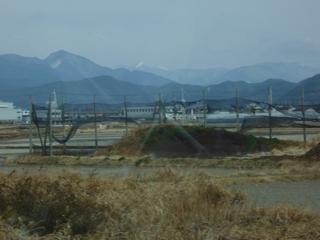 四国山脈は雪模様