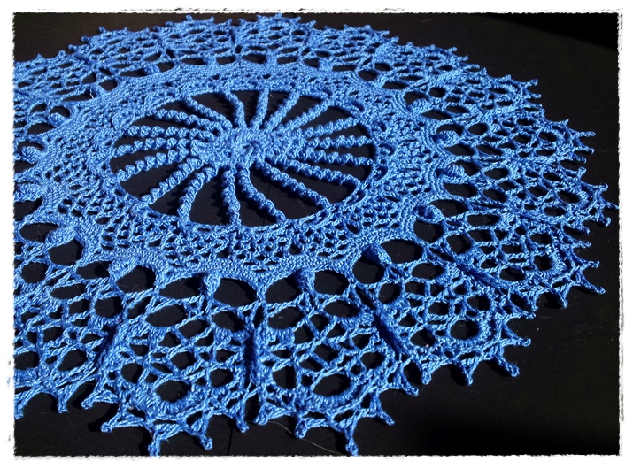 'ROSA' -Doilies With a Twist by Patricia Kristoffersen-