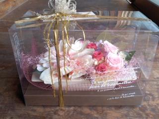 おばあちゃんからお花
