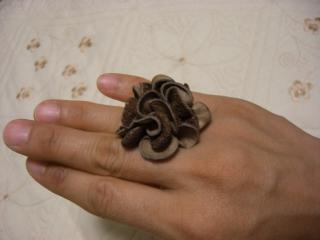 レザー 指輪