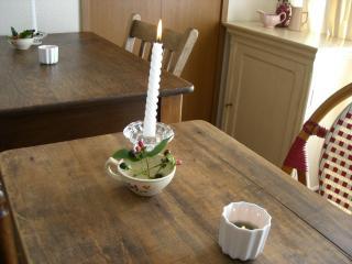 テーブルふたつ・・・