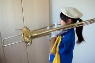 ぷにぷにファンファーレバンド練習中。
