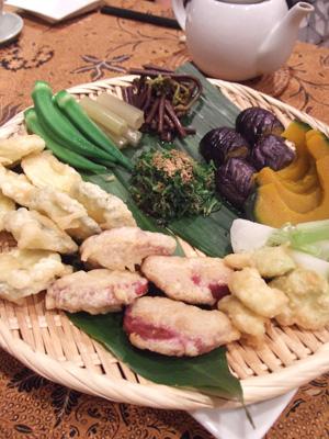 主野菜料理