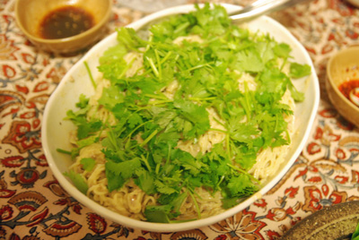 パクチー麺