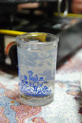 yukiちゃんのコップ酒