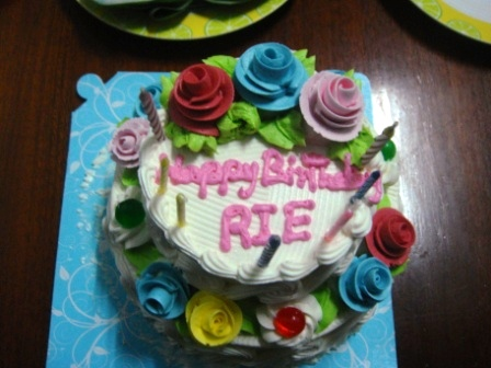 恐怖のケーキ