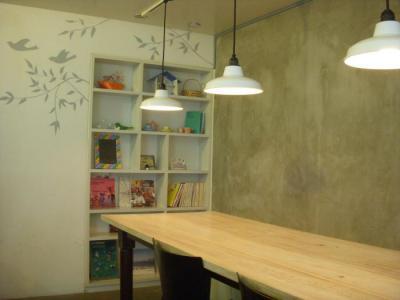カタネカフェ(B1Fカフェ店内1)