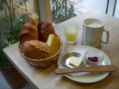 カタネカフェ(パリの朝食¥650)