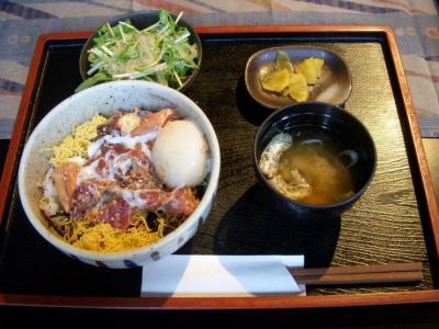 OBANZAI DINING CAFE OHASHI(みそマヨちらし丼¥893)