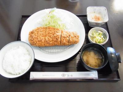 まい泉(国産豚ロースかつ膳¥1680)