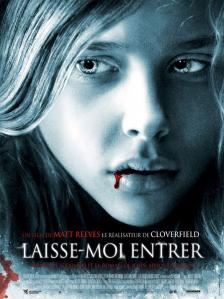 Let Me In French Poster
