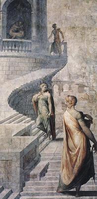 Francesco Salviati (1510-1563) - Bathsheba Goes to King David