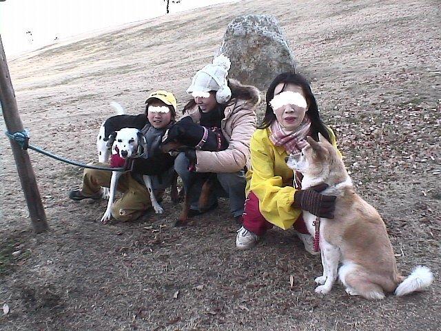 2006.01.03みんなでイモ山公園1