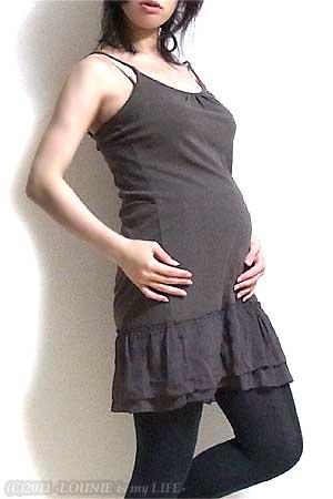 LOUNIE(ルーニィ)通販:コーディネート日記◇他のママさんに差をつけたい!Stola.(ストラ)チェックシャツワンピ×ジレでトラッドに♪出産の講習会に参加してきました~