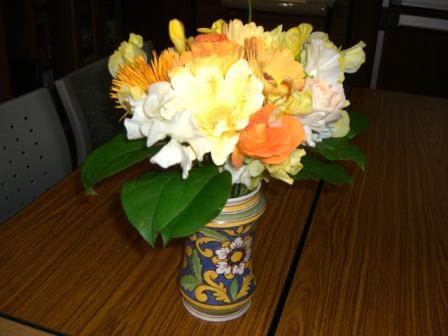フィリーママからお花2