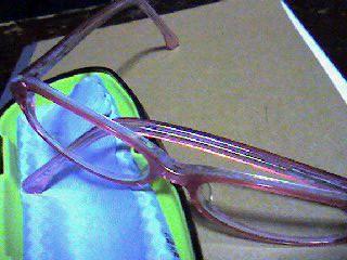りーちゃんのメガネ