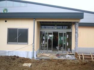 レックインドアテニススクール 正面玄関
