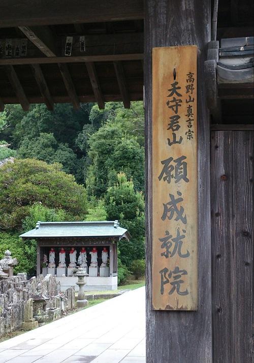 写真撮影が禁止のため、門からの1枚です。北条時政が建立、運慶作諸仏は国宝です
