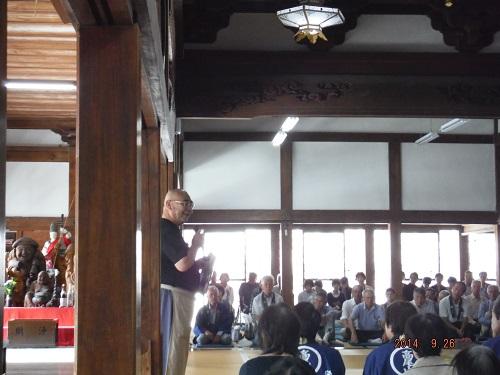 高尾山の特別講演や仲良し学校の紹介です。
