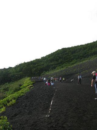 富士登山スタート
