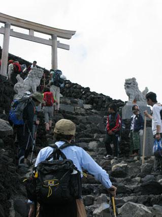 ひたすら富士山をのぼる