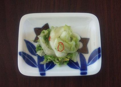 白菜の漬け物