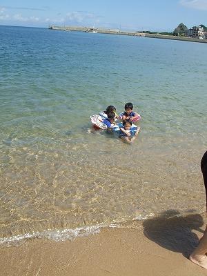 海水浴場②