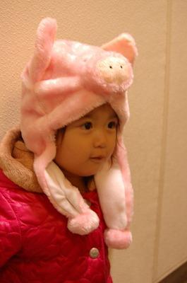 s-豚の帽子20111124